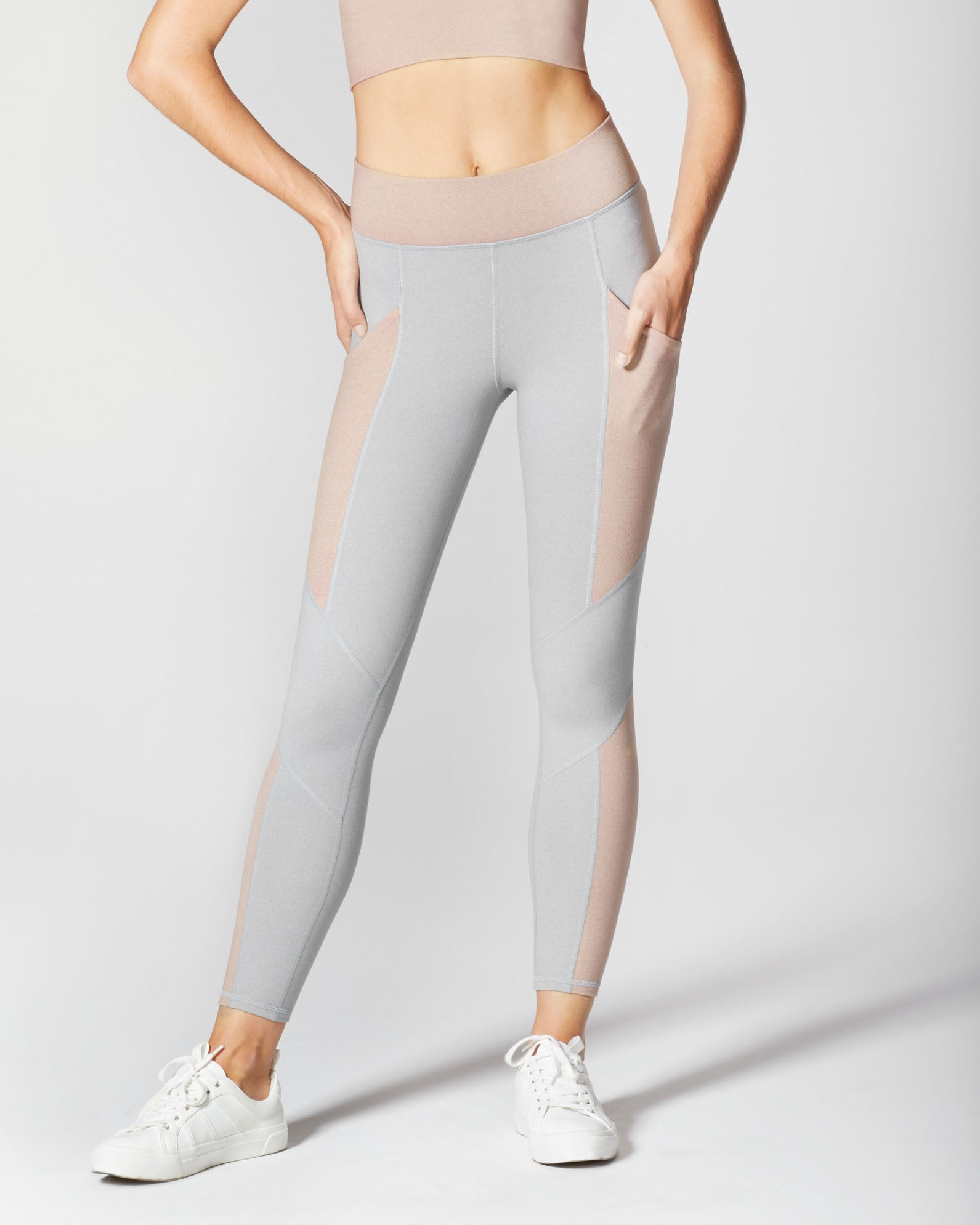 Aura Pocket Legging - Rose Quartz