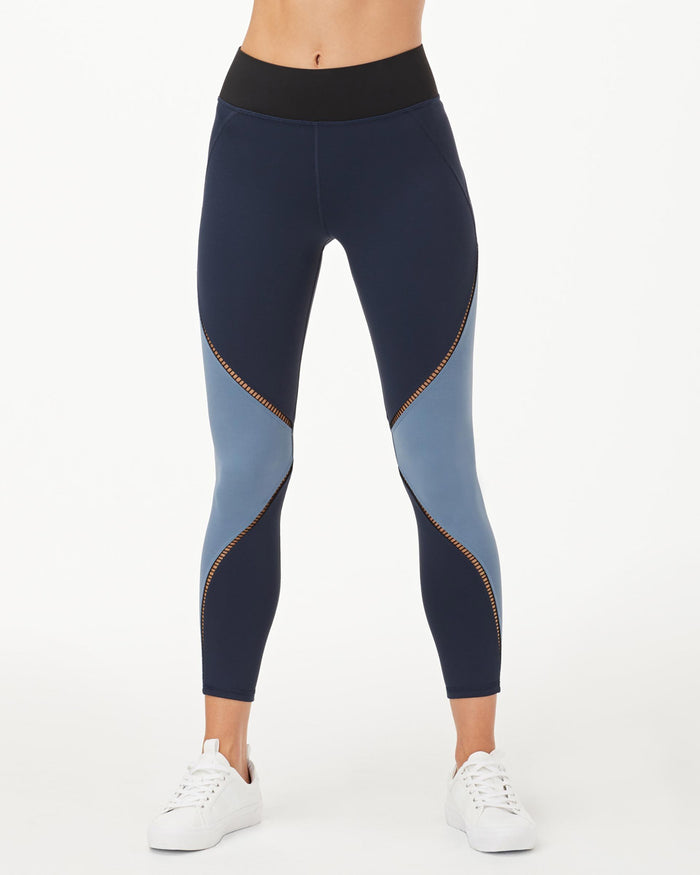 Axial Legging - Deep Sea Navy/Storm Blue