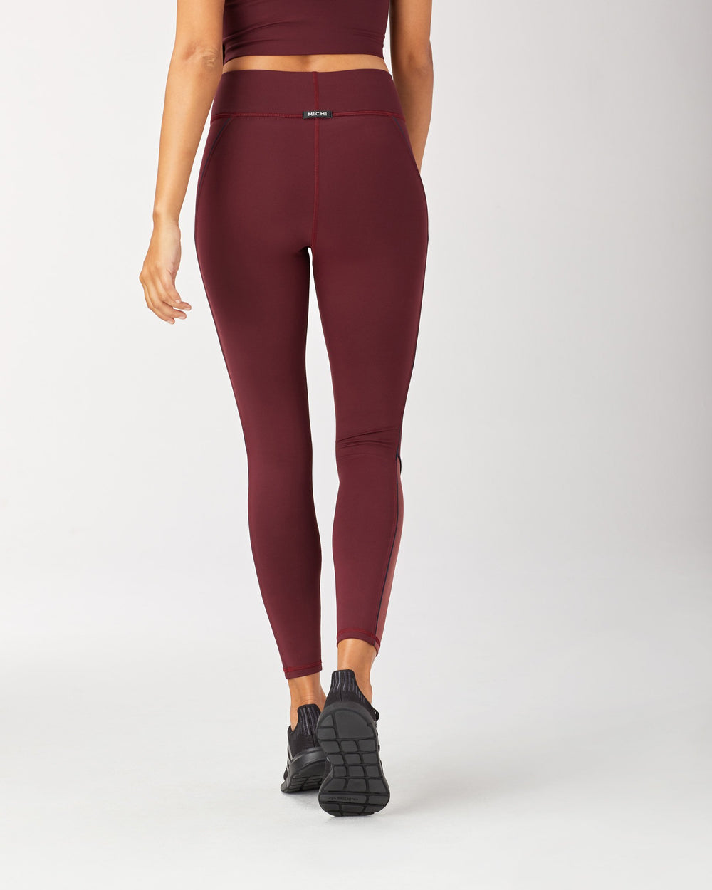 Baltic Pocket Legging - Wine/Spice