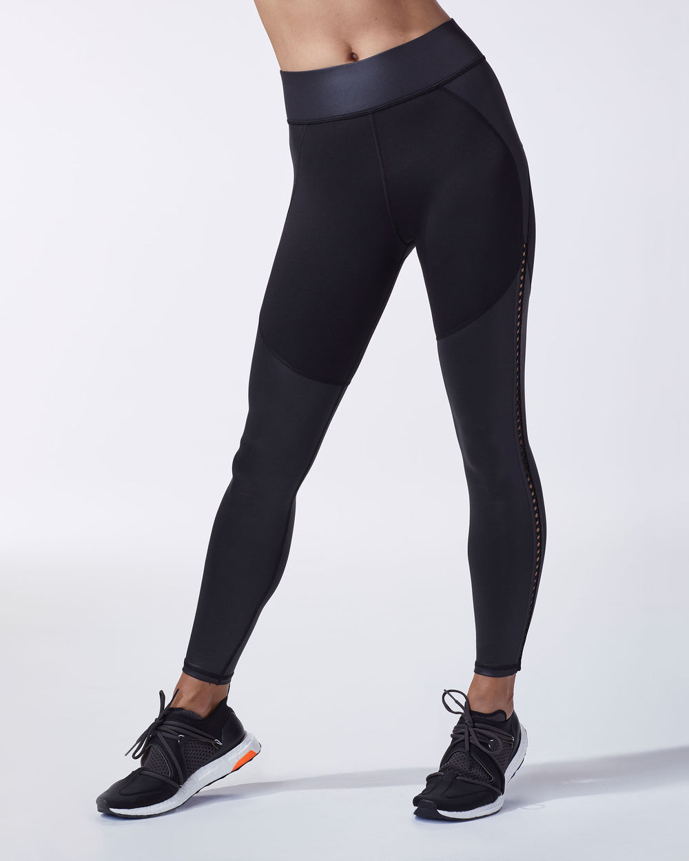 Barre Legging - Liquid Black