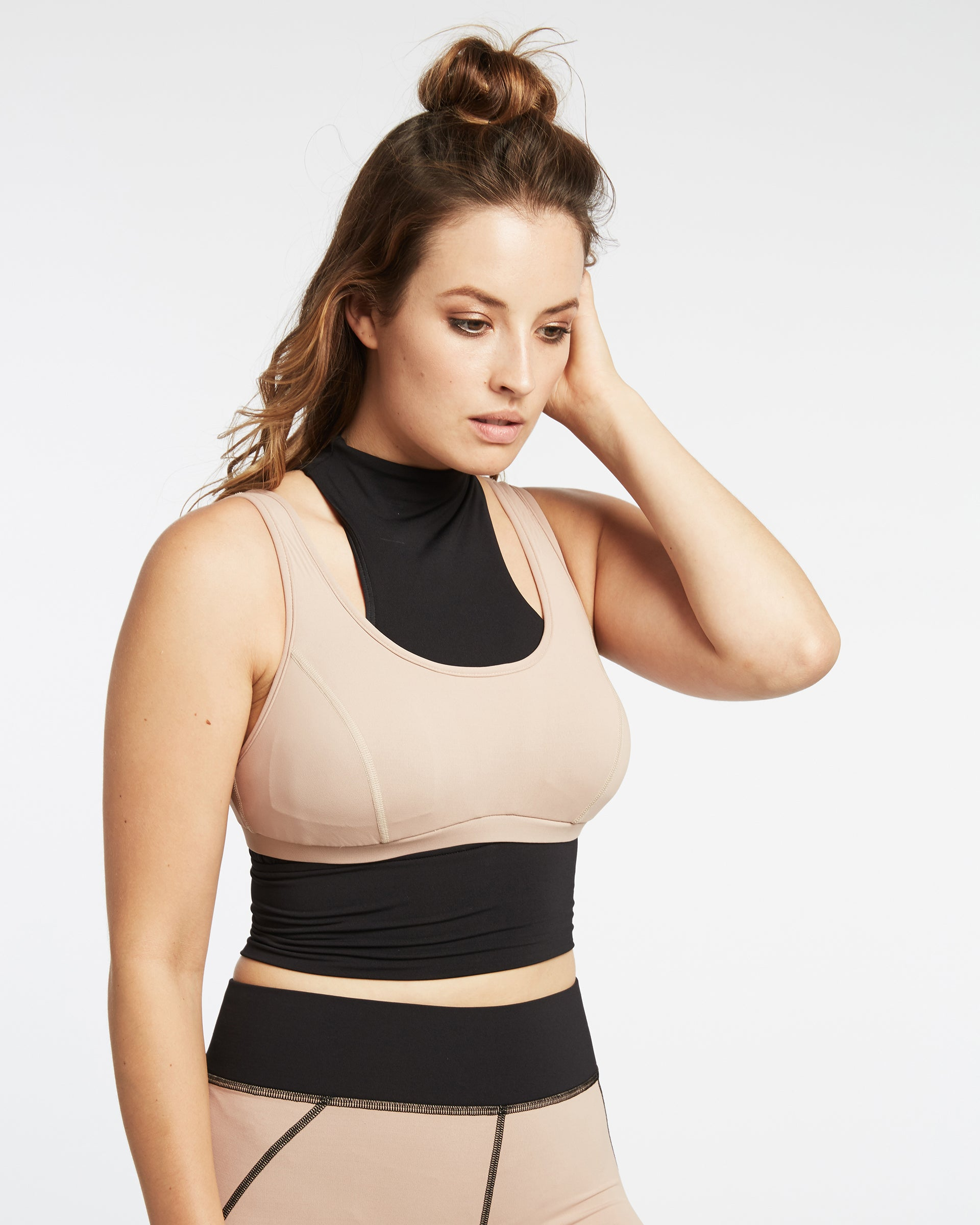 Extension Crop Top - Black