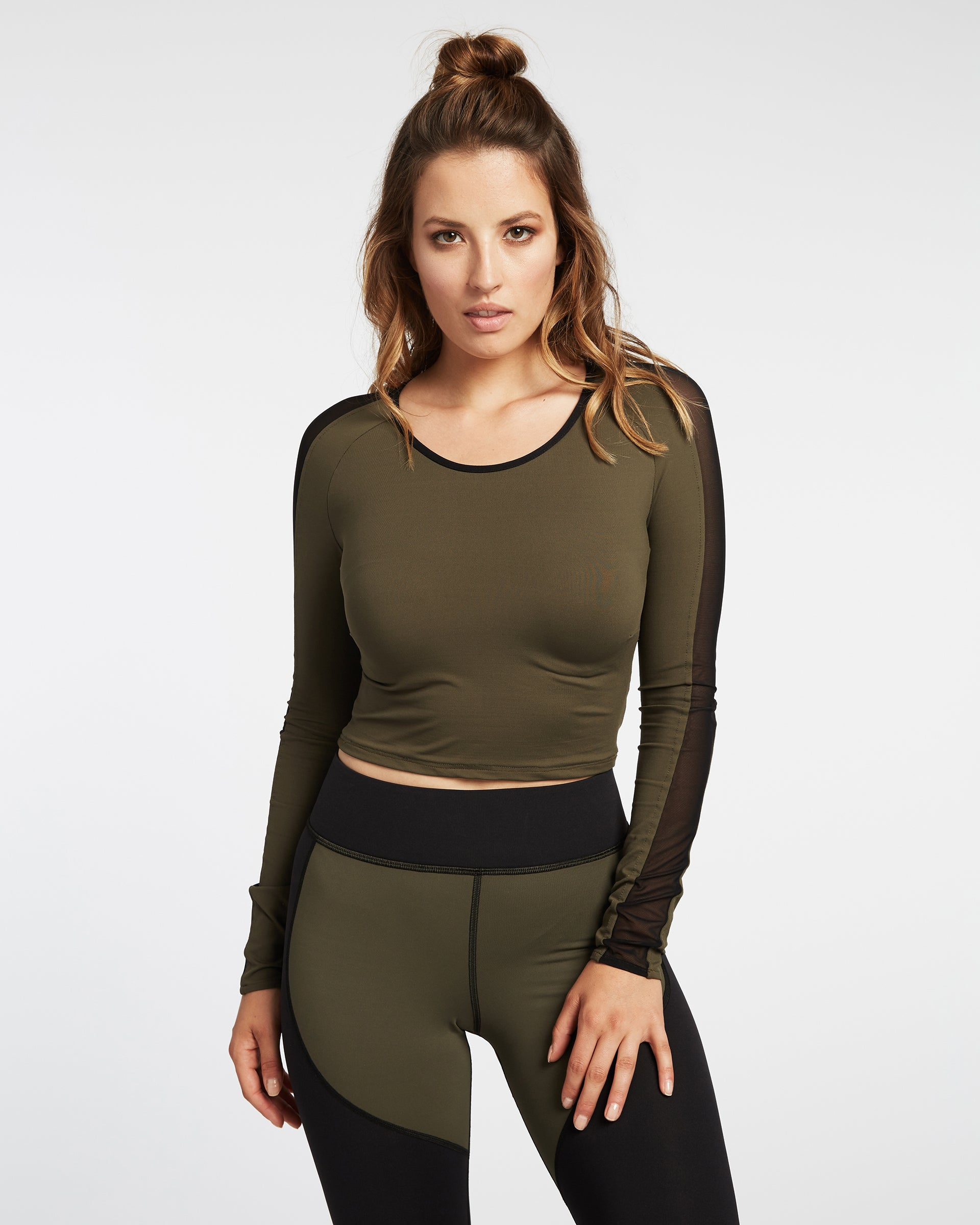 bolt-crop-top-olive