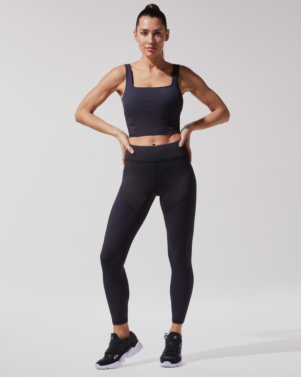 Cadence Ribbed Legging - Black