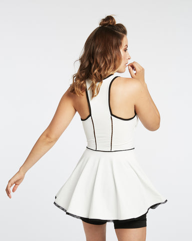 Court Tennis Dress - Ivory