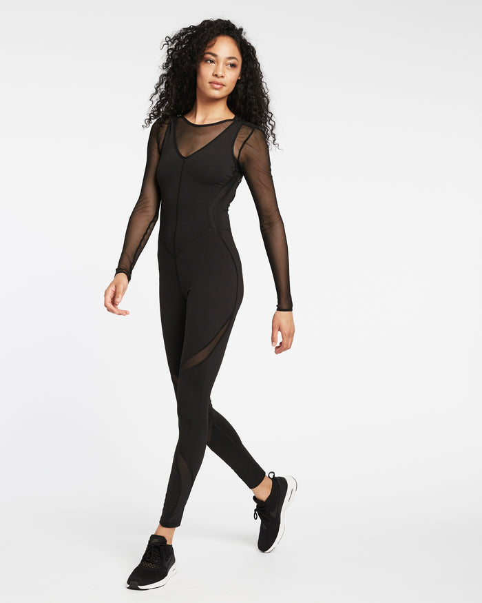 Siren Jumpsuit - Black