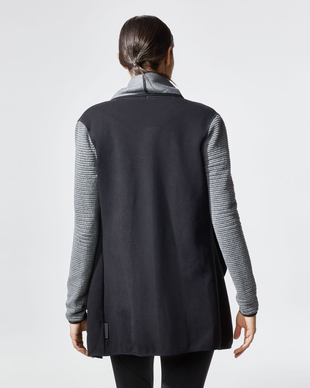 Dusk Wrap Jacket - Black