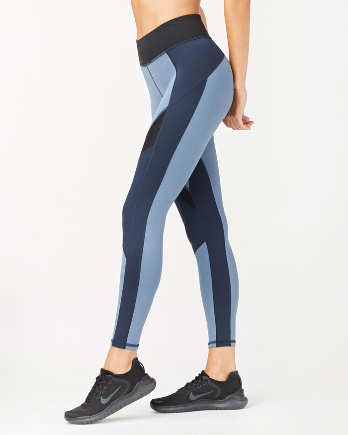 Extension Legging - Deep Sea Navy/Storm Blue