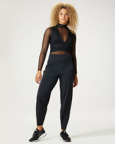 Electric Bodysuit - Black Mesh