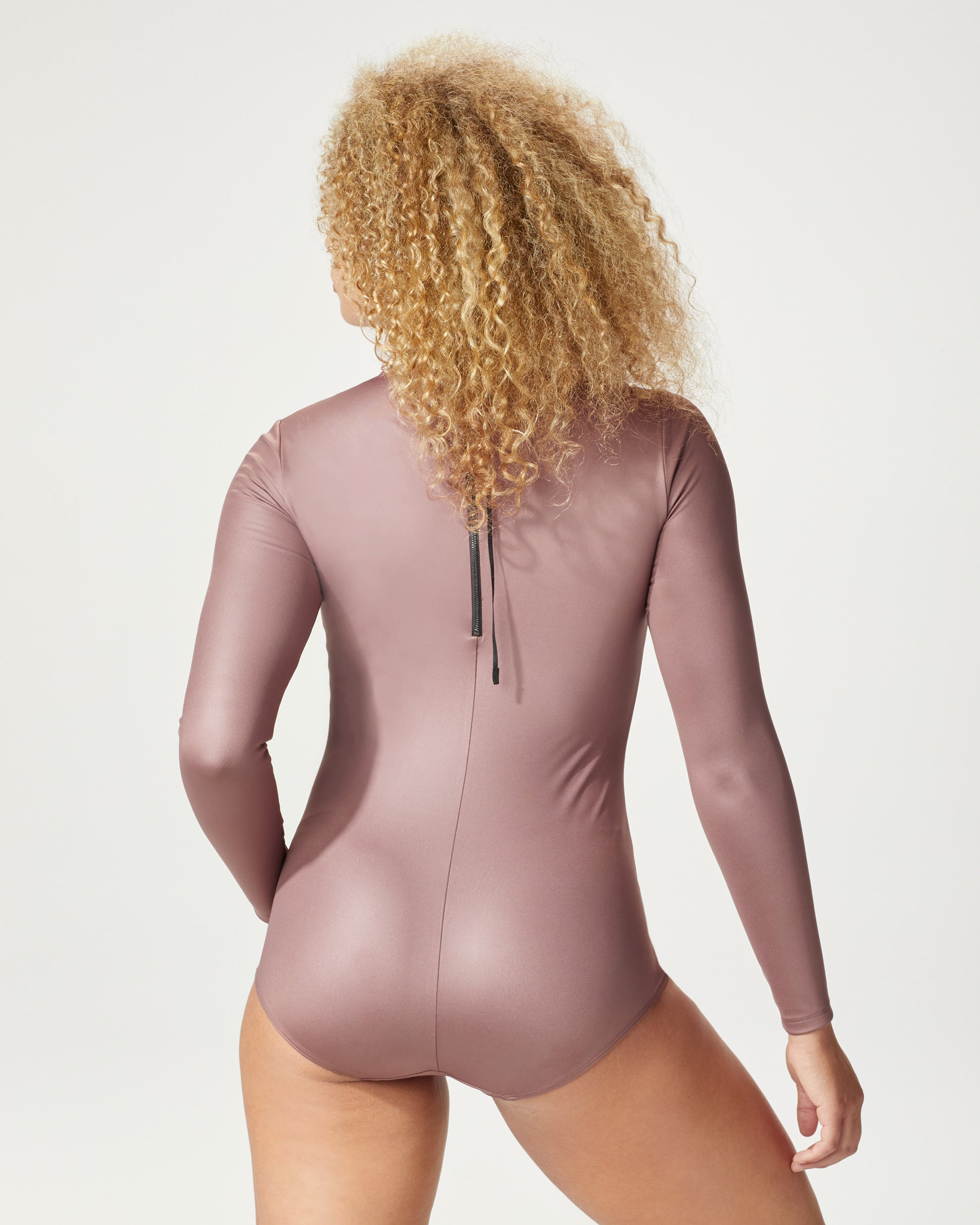 Electric Bodysuit - Rosewood