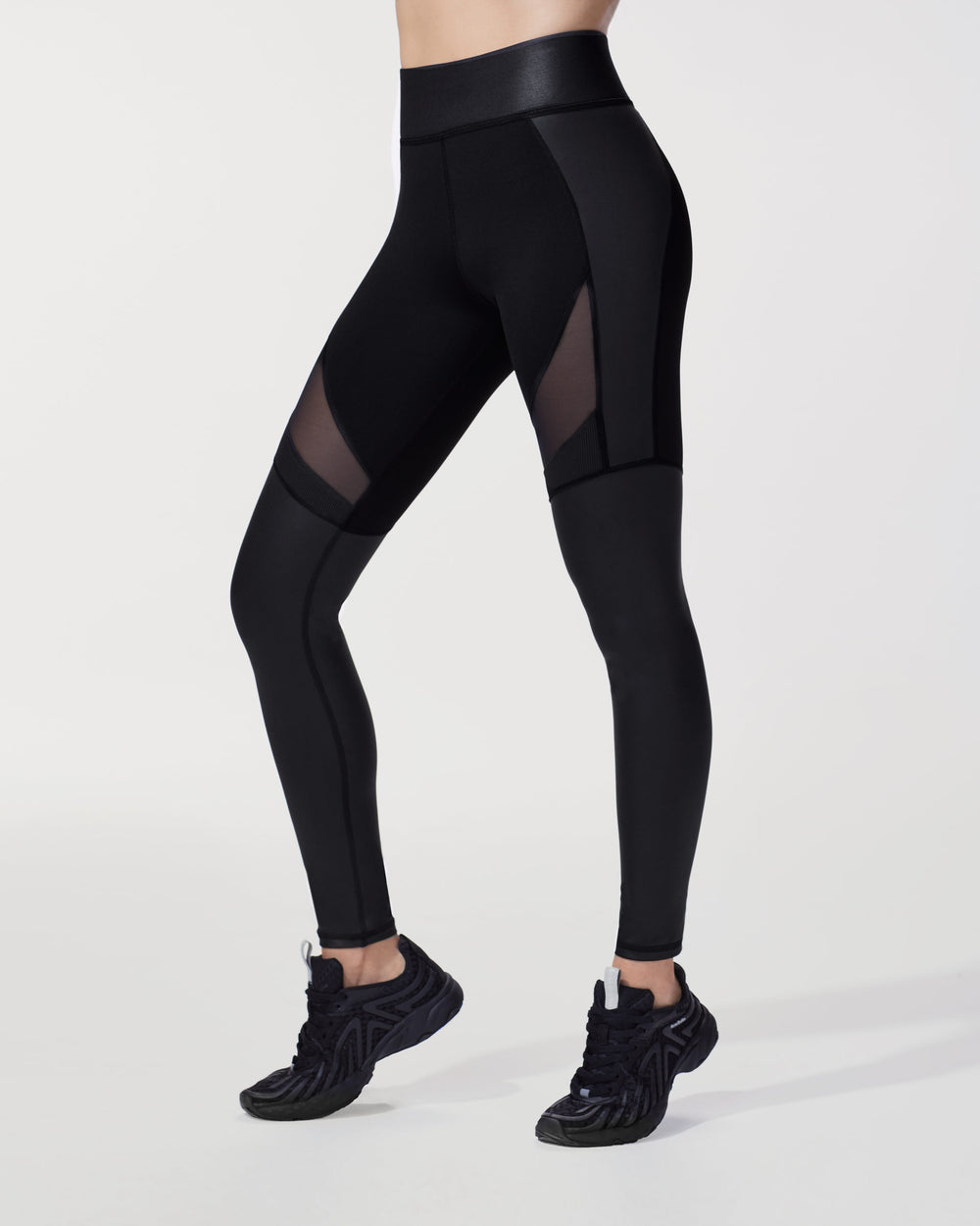 Enigma Legging - Liquid Black