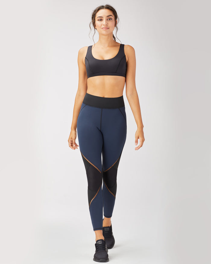 Evolve Legging - Navy/Black