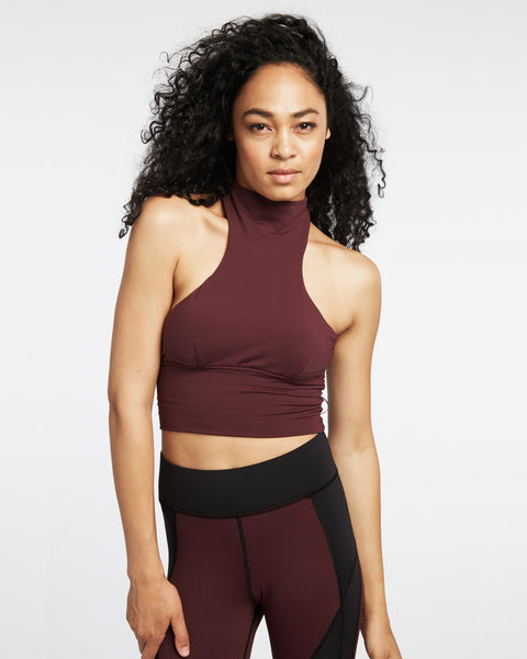 Extension Crop Top - Mulberry