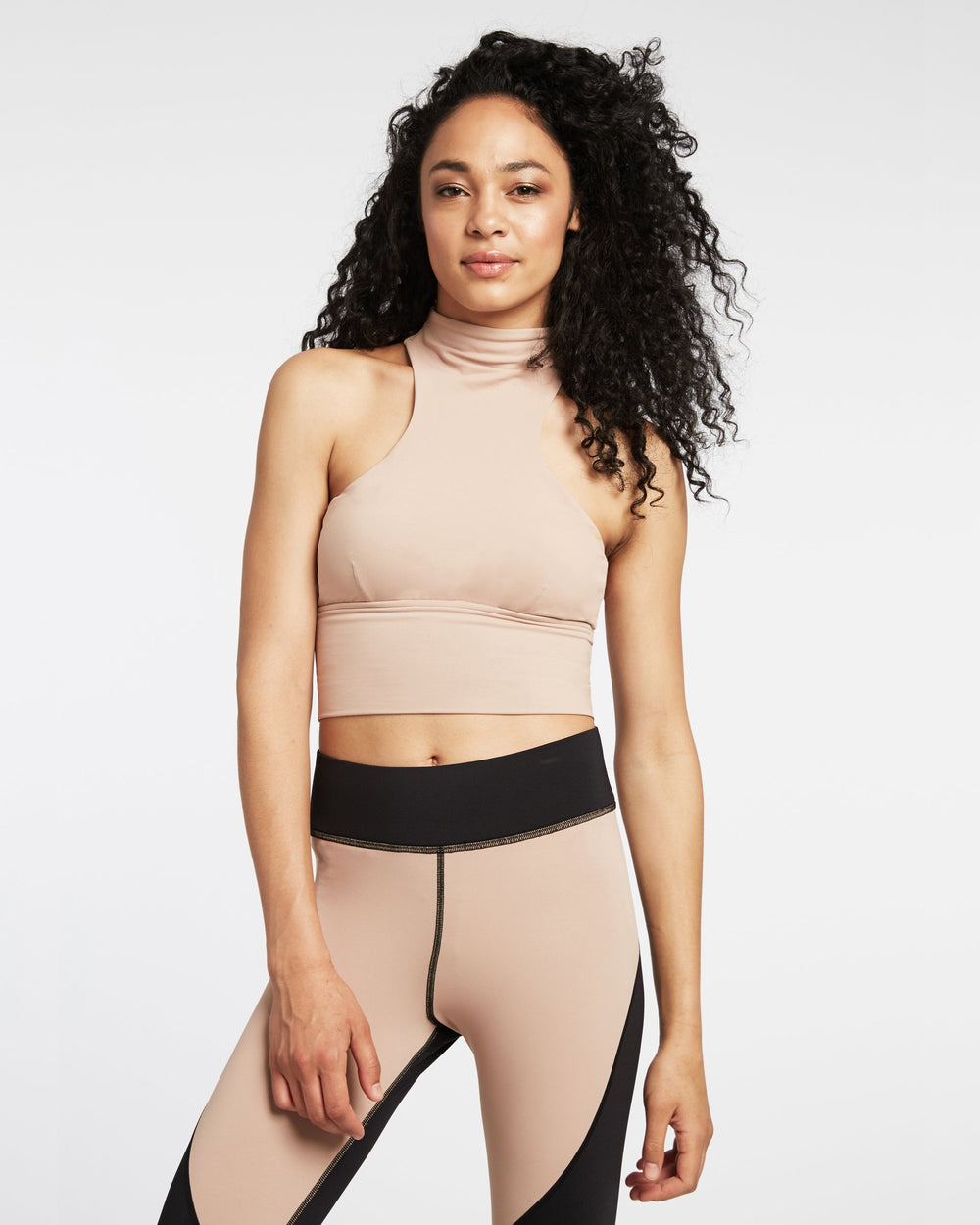 Extension Crop Top - Nude Pink