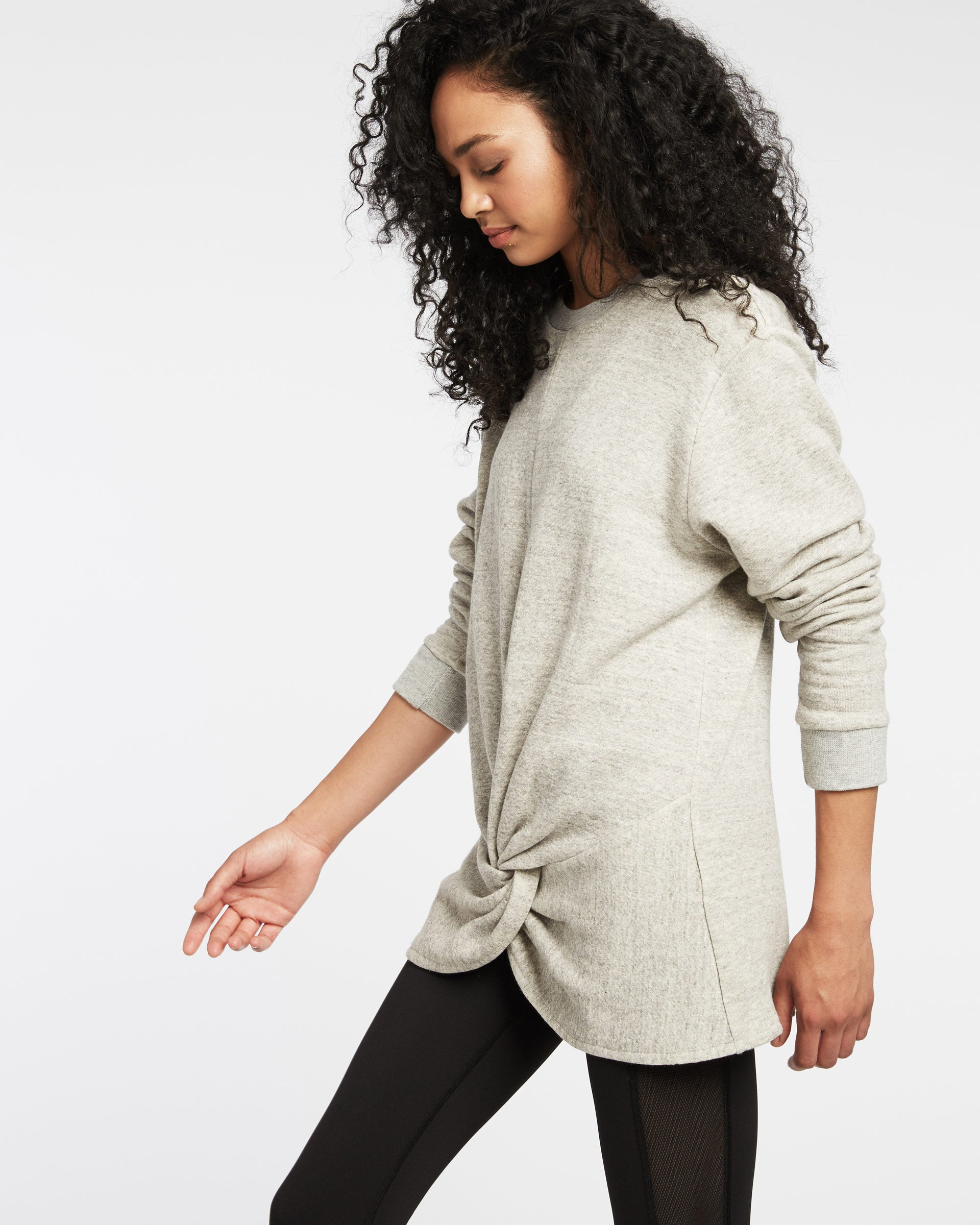 Farfalla Sweatshirt - Heather Grey