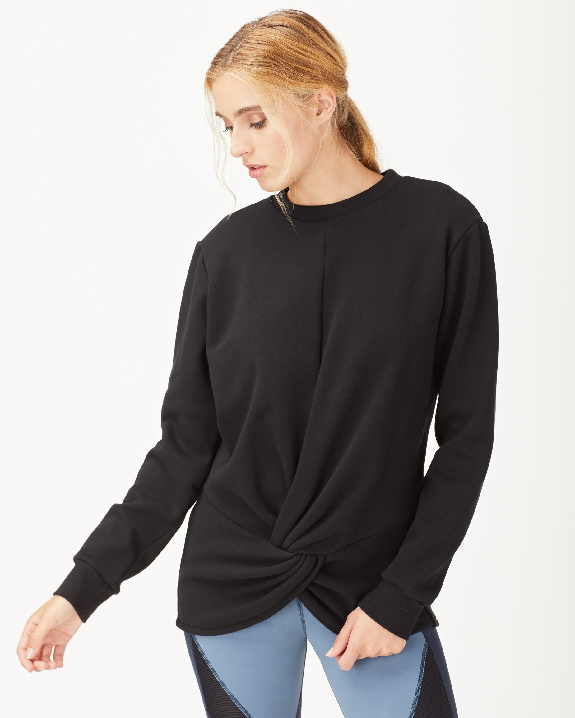 farfalla-sweatshirt-black