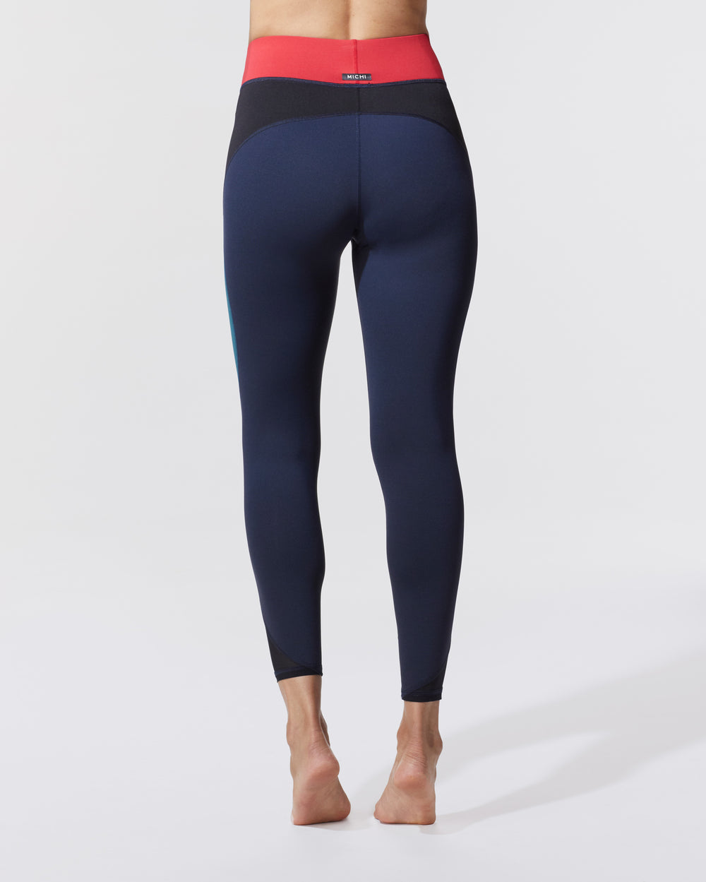 Flare Legging - Blue Flame