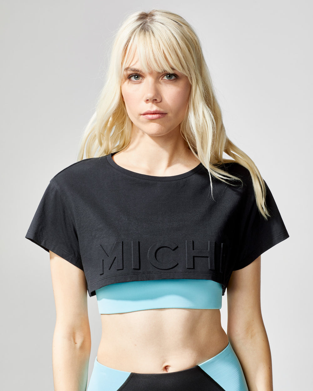 Flash Crop Top - Black