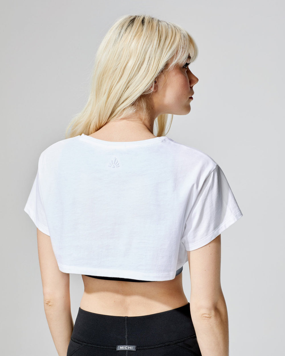 Flash Crop Top - White