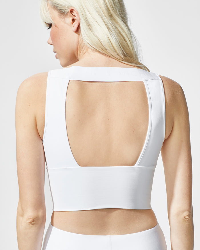 Formula Crop Top - White