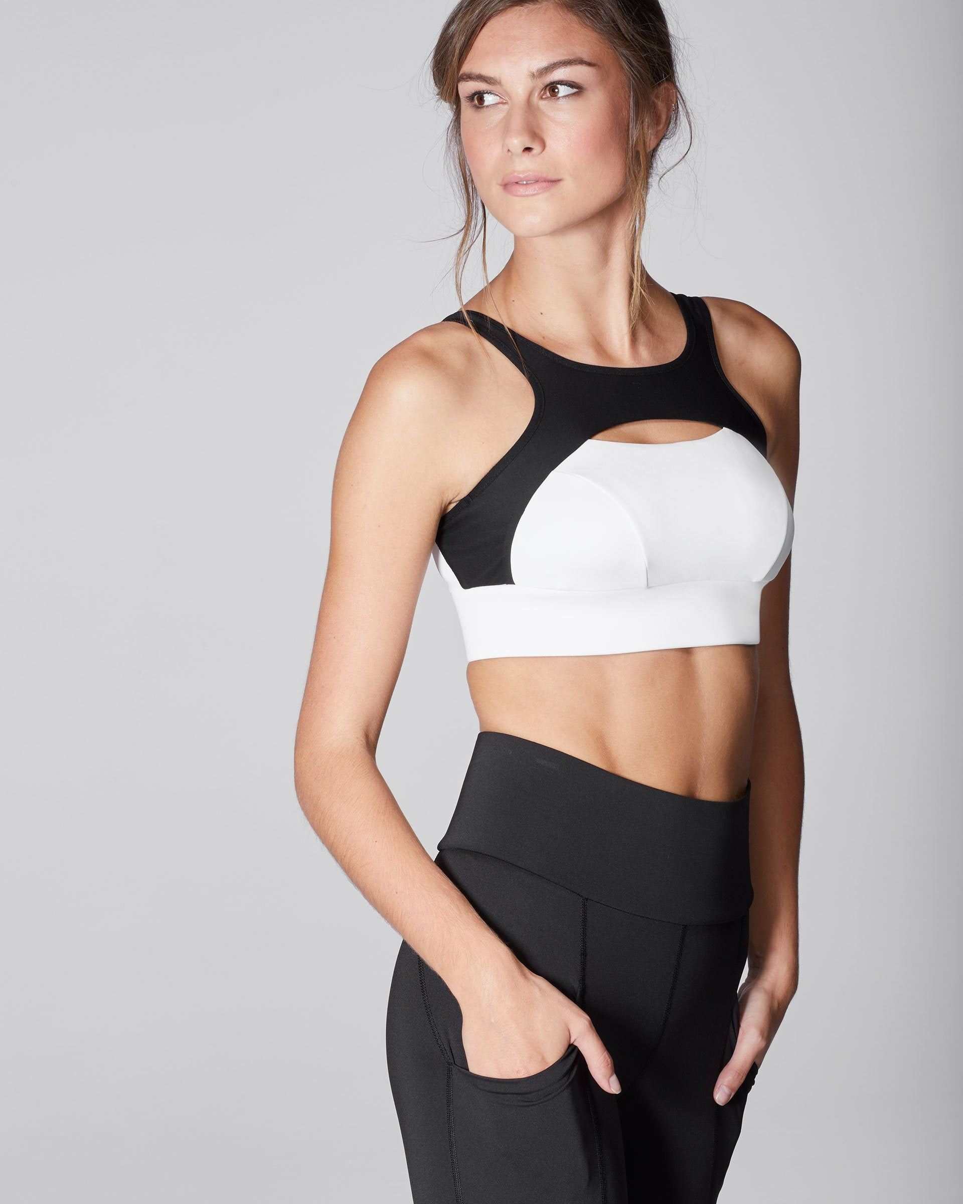 Fusion Bra - Black/White