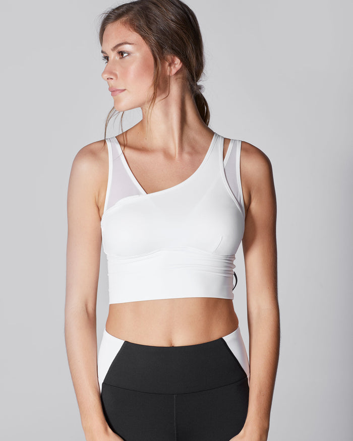 Glory Crop Top - White