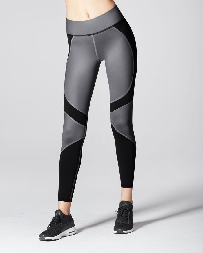 Glory Legging - Gunmetal/Black