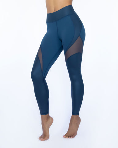 Glow Gloss Legging - Ink