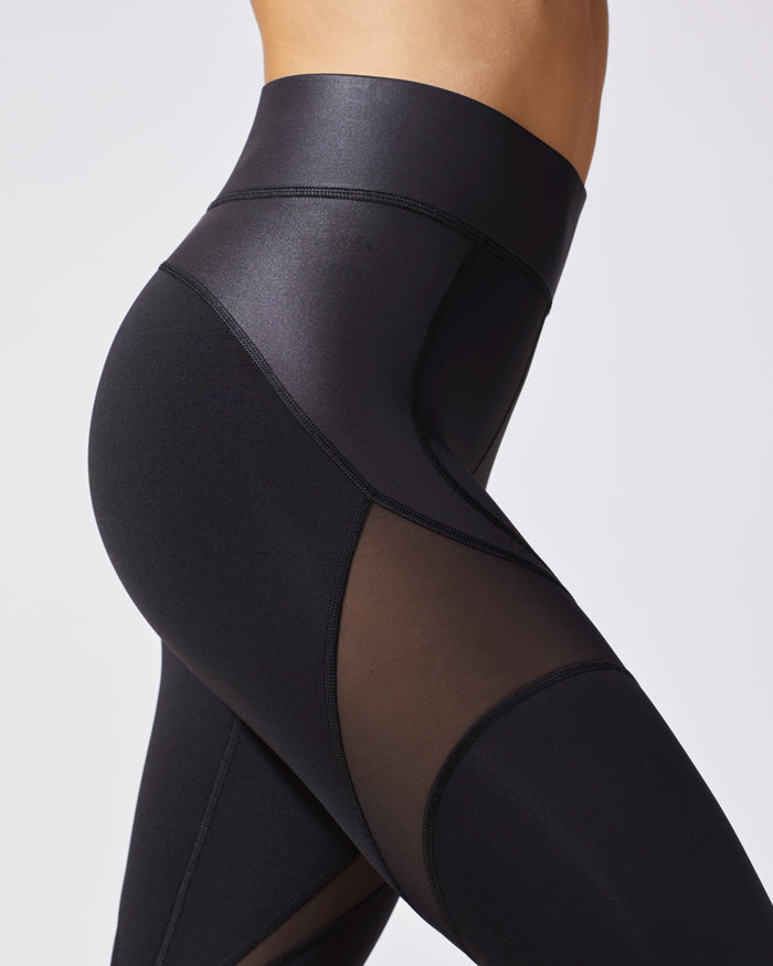 Glow Legging - Liquid Black