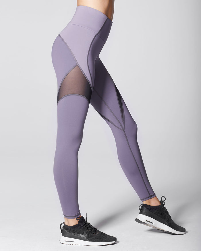 Glow High Waisted Legging - Mauve