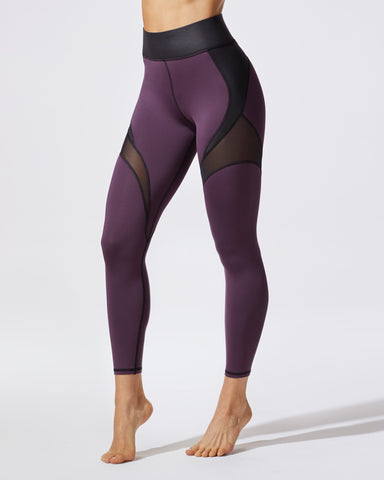 Glow Legging - Plum