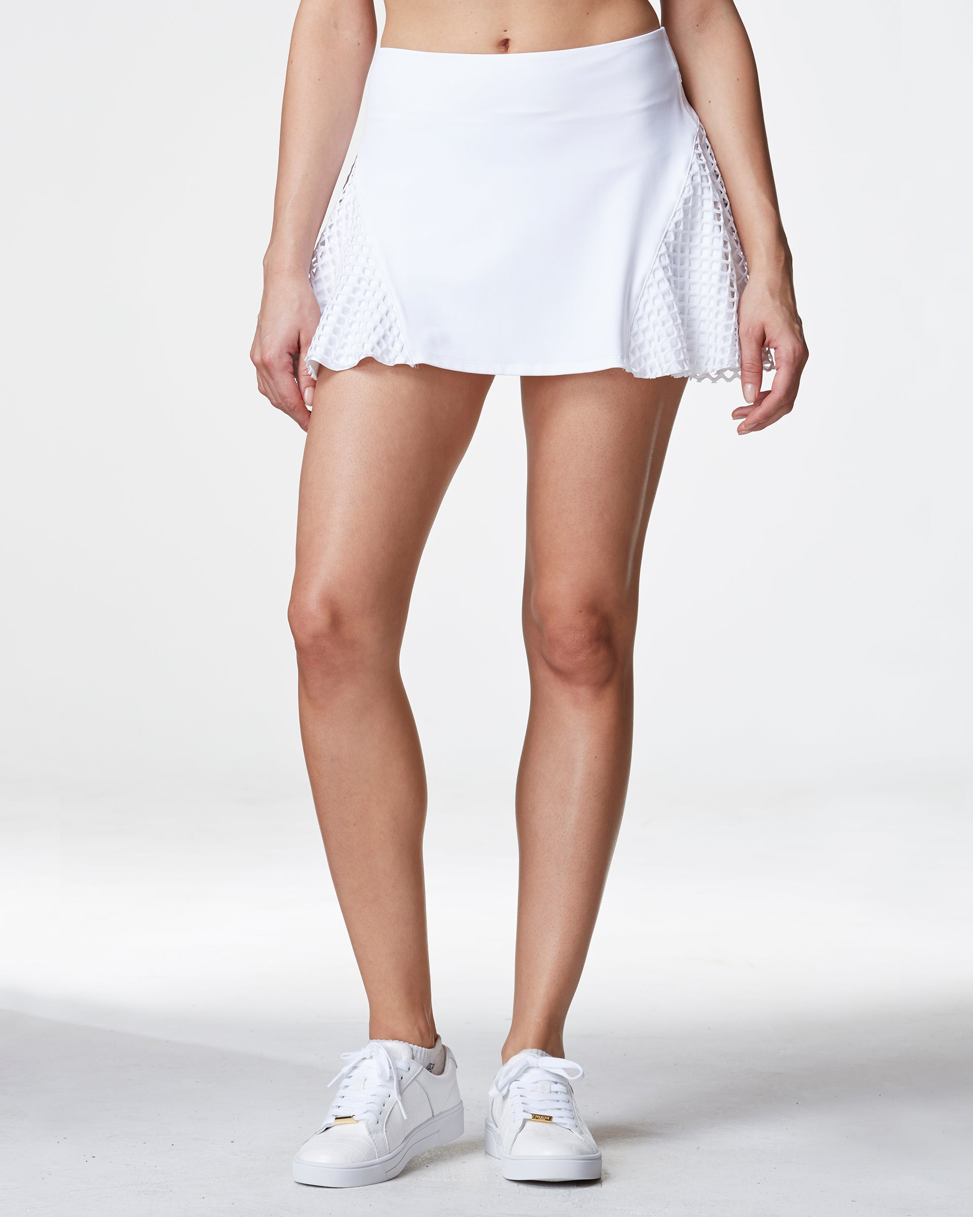 Deuce Tennis Skirt - White