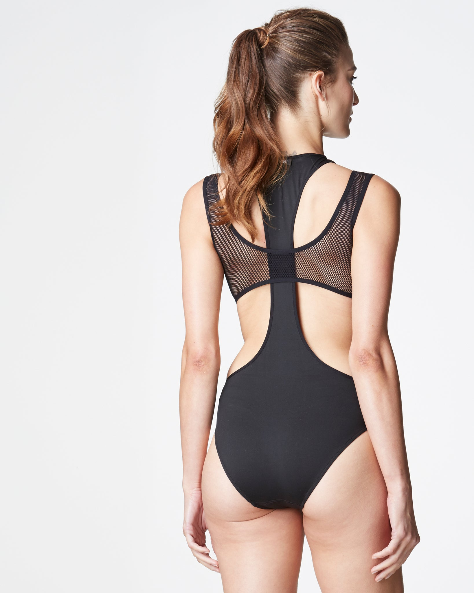 Medusa Bathing Suit - Black