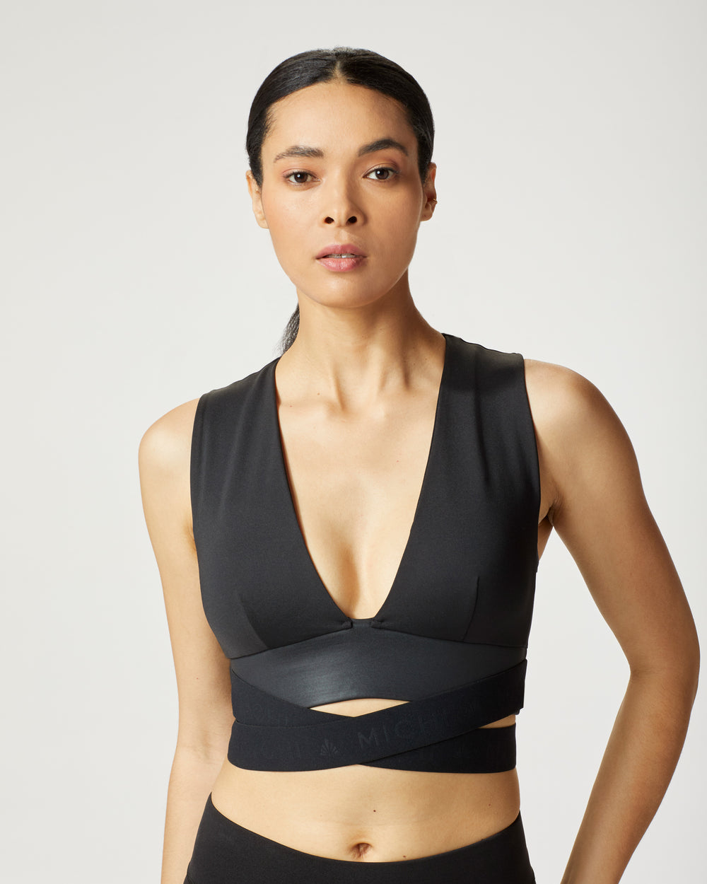 Hustle Bra - Black