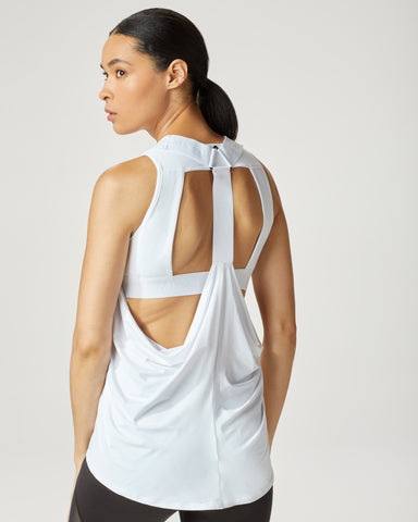 Hustle Tank - White