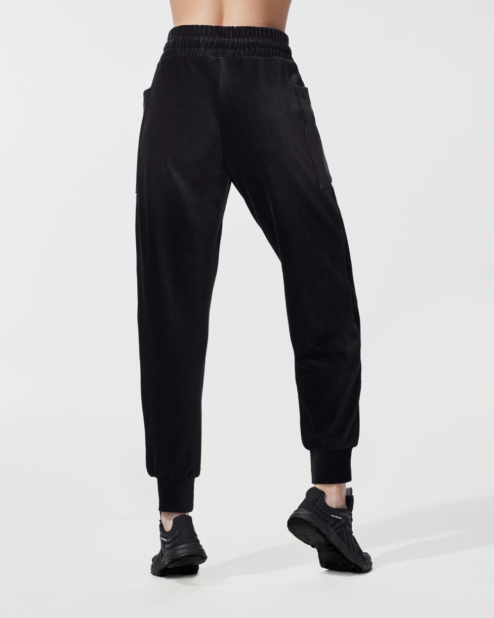 Hygge Ribbed Sweatpant - Black