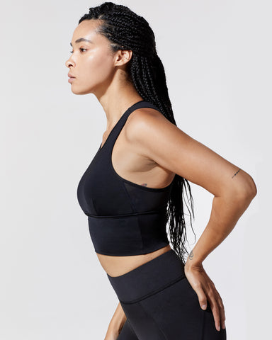 Ignite Crop Top - Black