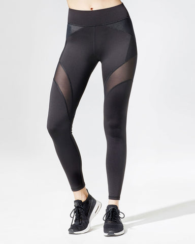 Illusion Legging - Black