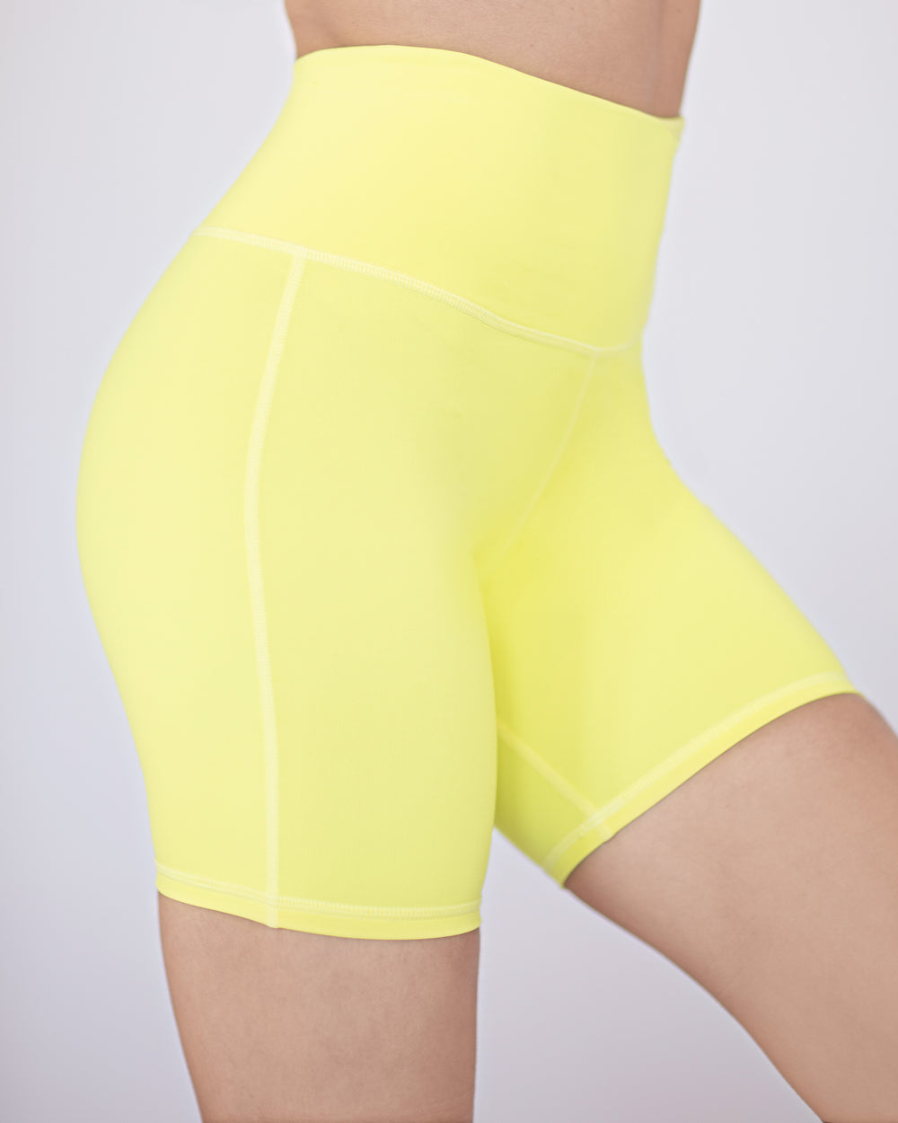Instinct Bike Short 7 1/2 Inch - Electric Yellow