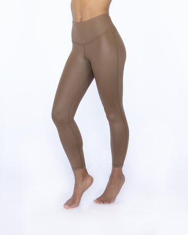 Instinct Gloss Legging - Bronze