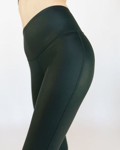 Instinct Gloss Legging - Forest
