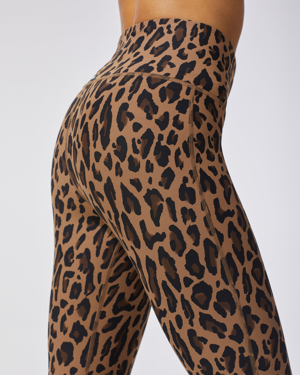 Instinct Leopard Print Legging - Brown