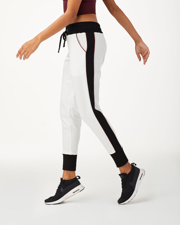 Interstellar Sweatpant - Ivory/Black/Wine