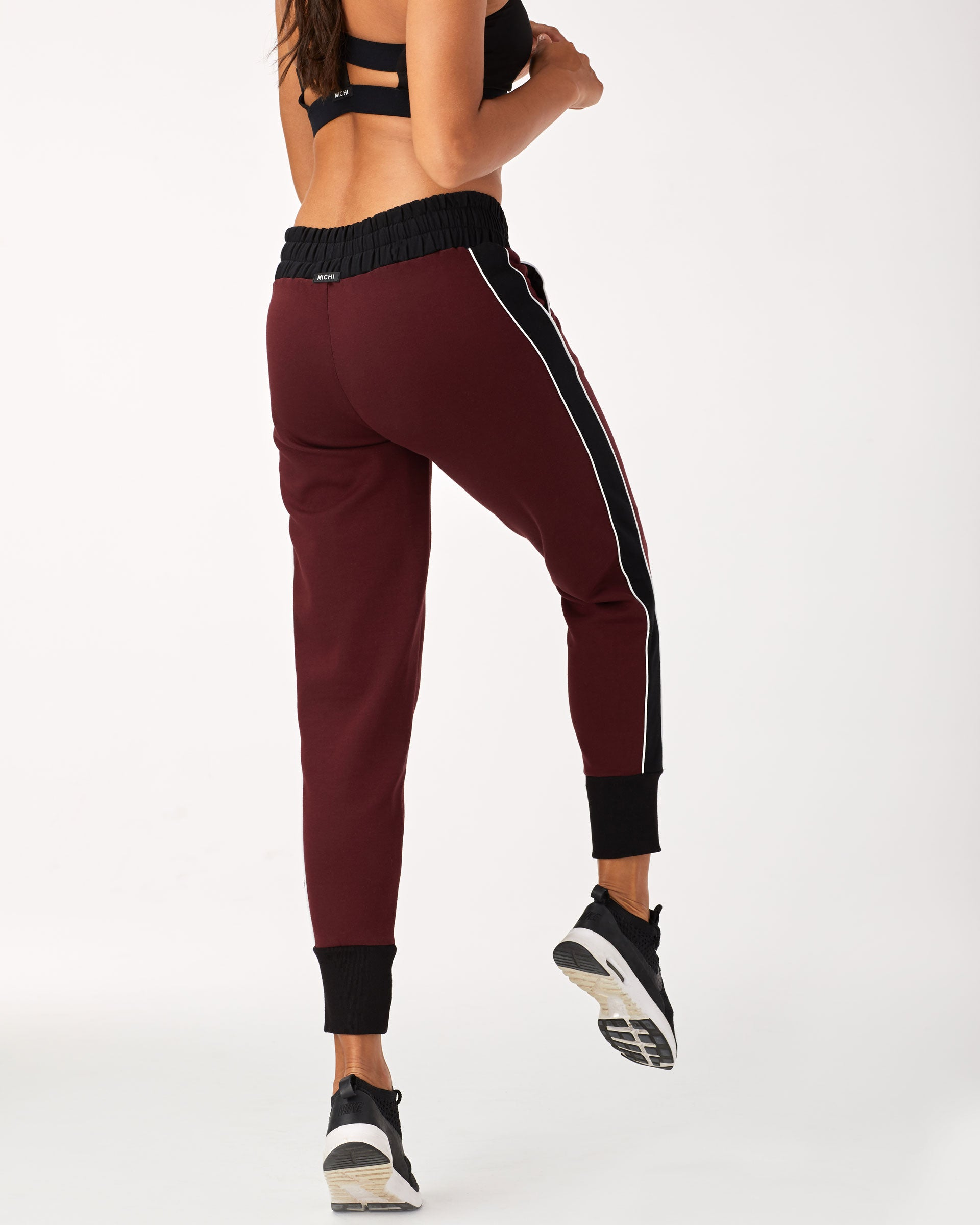 Interstellar Sweatpant - Wine/Black/White