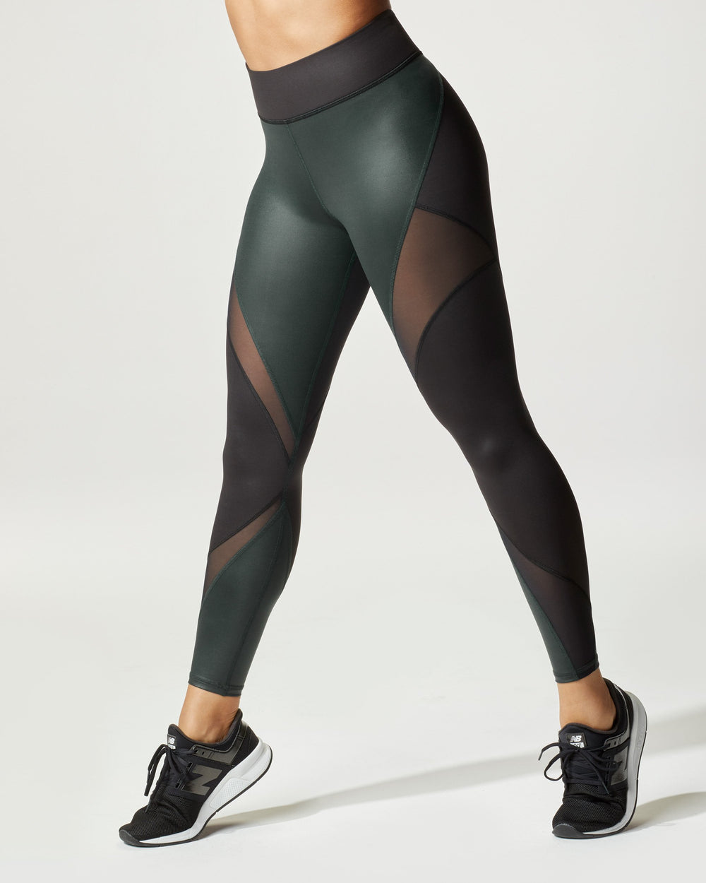 Inversion Rise Legging - Black/Forest