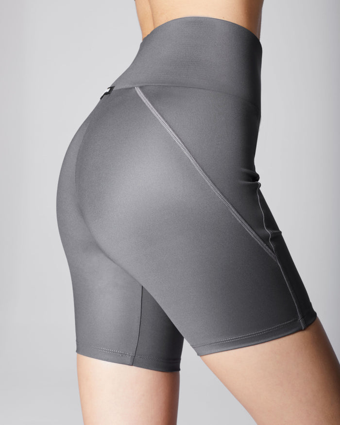 Liquid Bike Short - Gunmetal