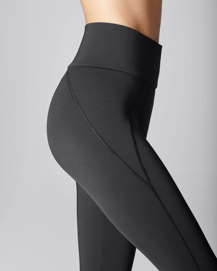 Liquid High Waisted Legging - Black