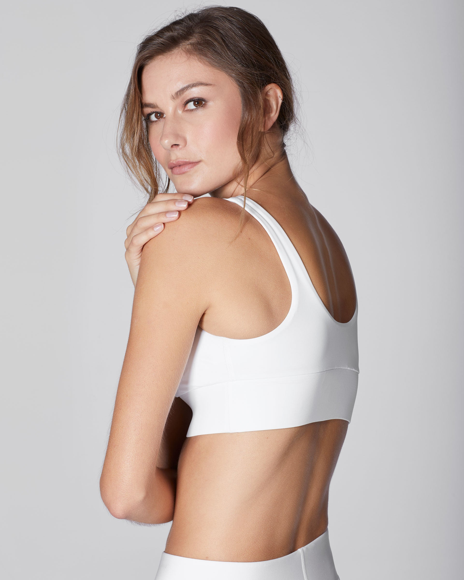 Lotus Bra - White