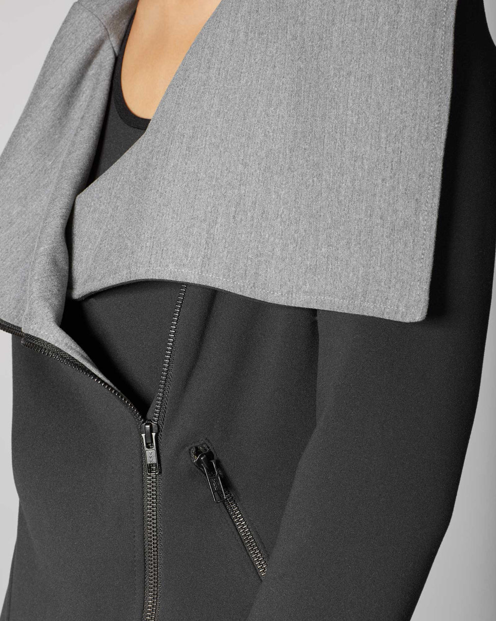 Lotus Jacket - Grey/Black