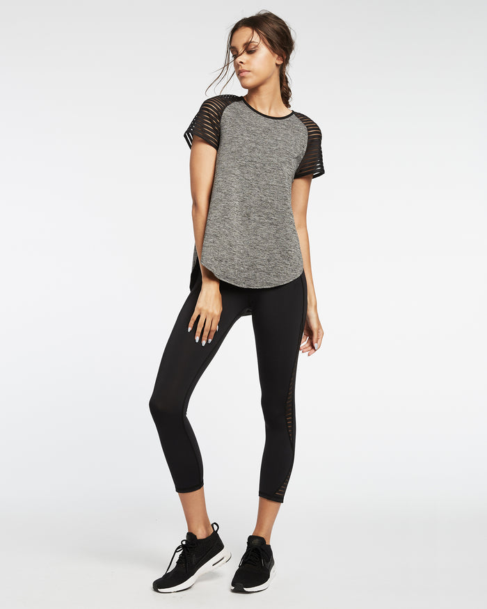 Banda Top - Heather Grey