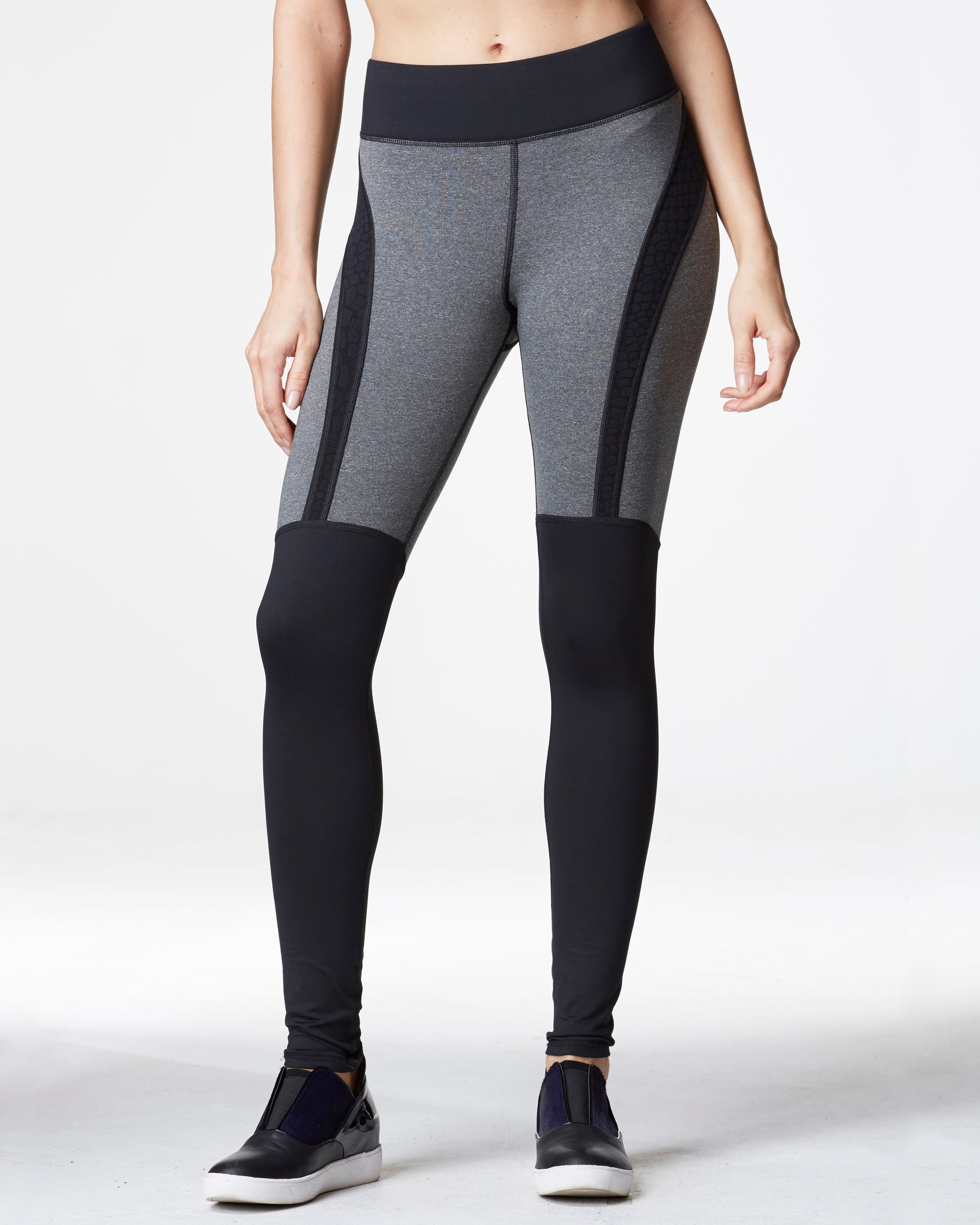 Siren Legging - Heather Grey